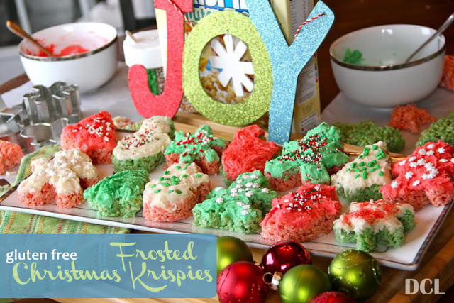 {Frosted Christmas} Krispies}