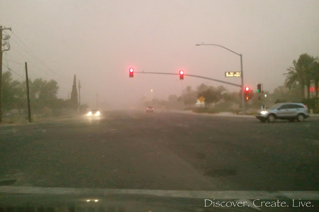 a haboob! {dust storm}