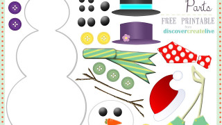 Snowman-Parts-Assembly-Printable