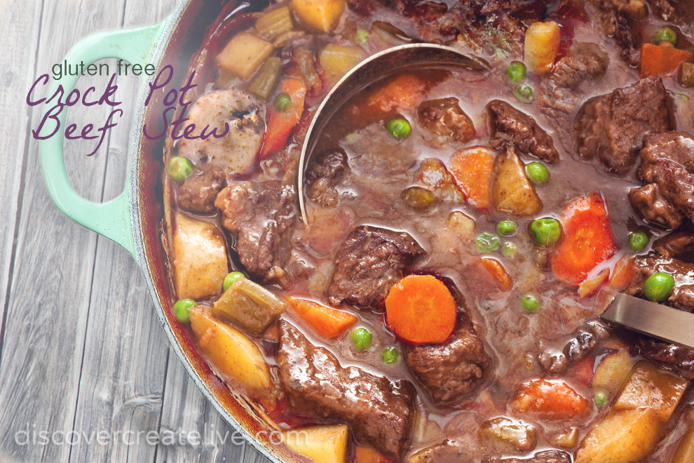 Beef Stew {Crock Pot and Freezer Meal}