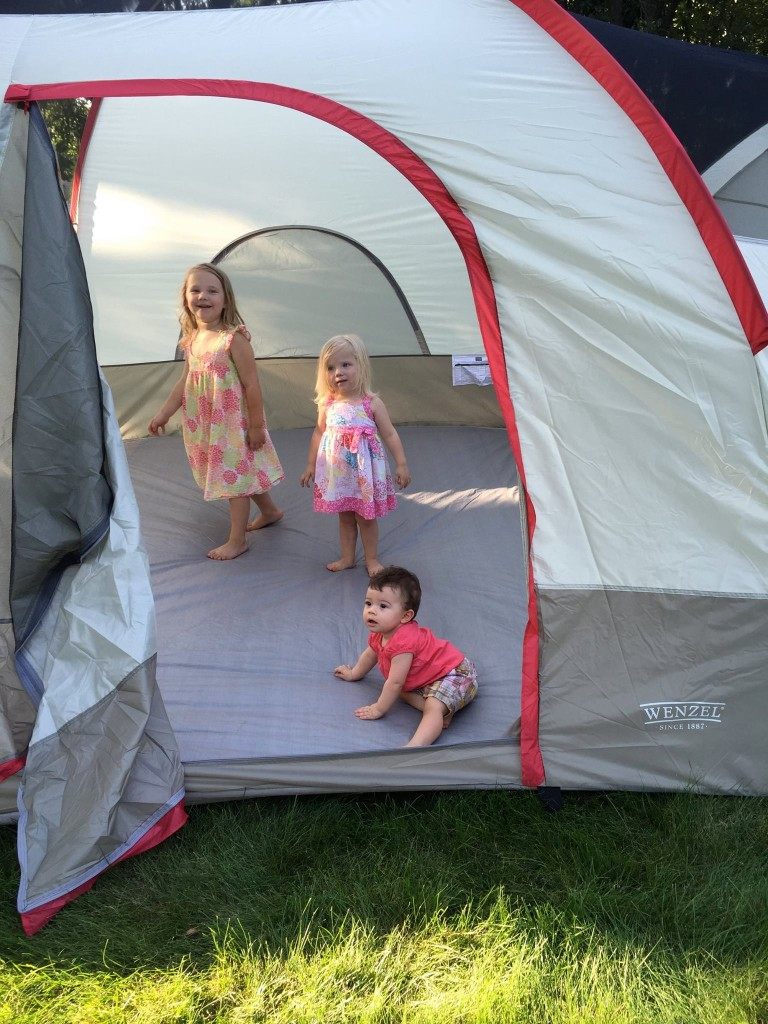 camp out in the back yard!