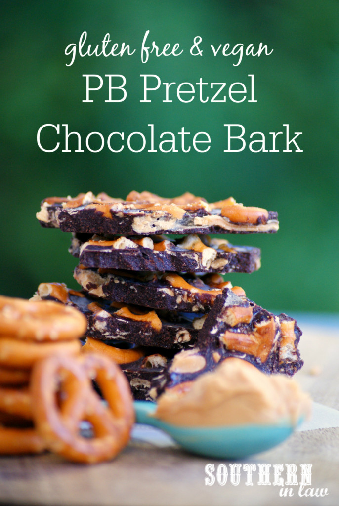 PB Pretzel Chocolate Bark