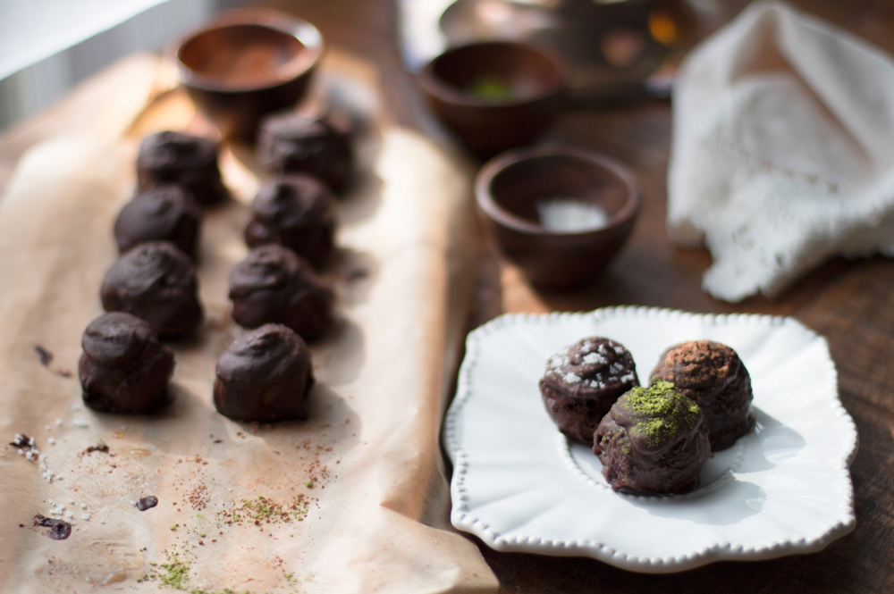 Coconut Turned Marzipan Bon Bons | Karen @ Harmony Kitchen