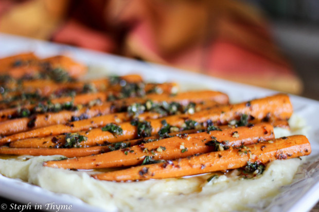 roasted-carrots-with-parsnip-puree-stephinthyme