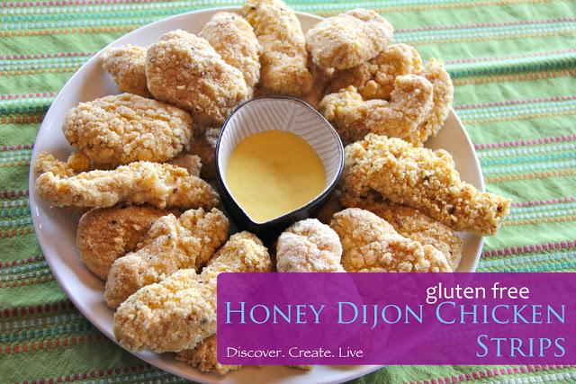 Honey Djon {or BBQ} Chicken Strips