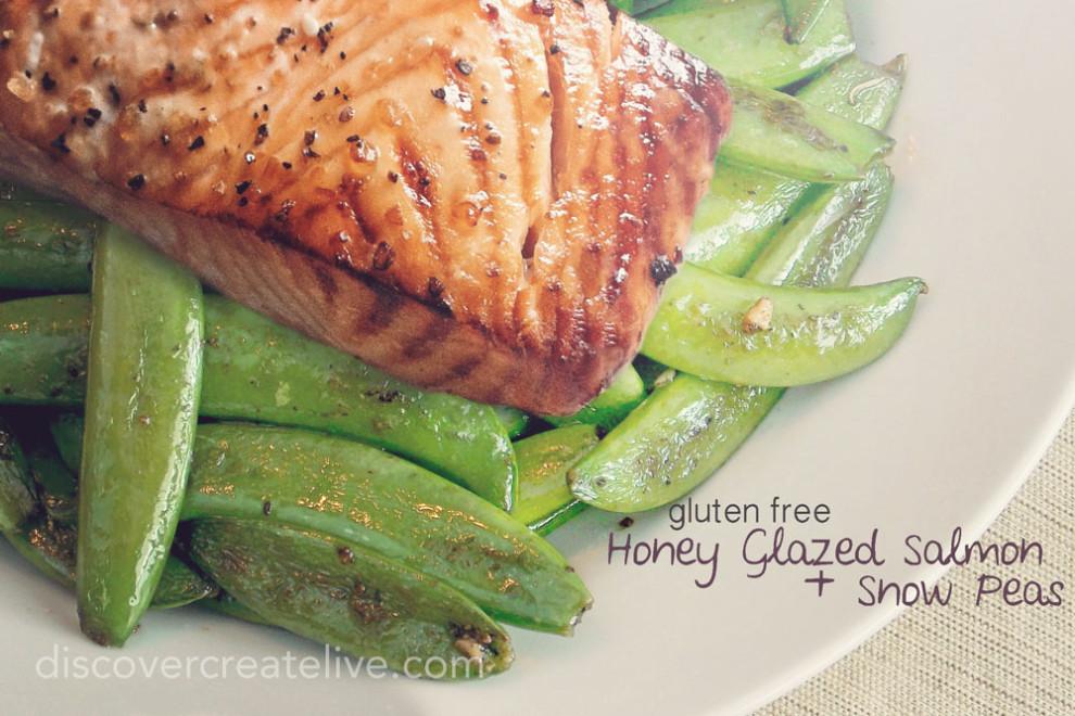 Salmon Snow Peas {+ Other Freezer Meals}
