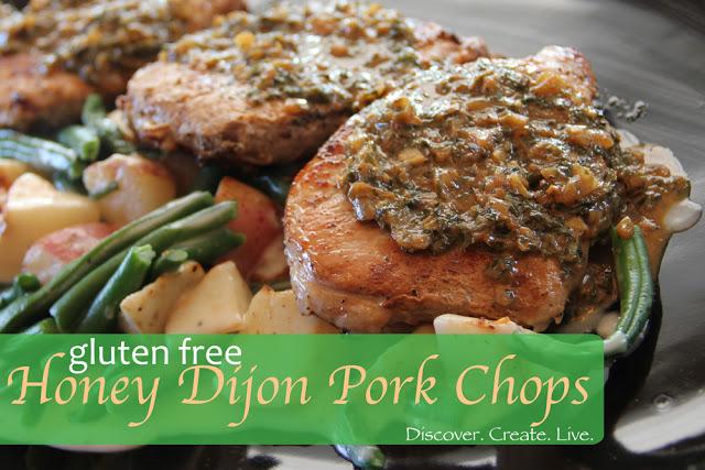 Honey Djon Pork Chops