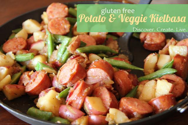 Potato and Vegetable Keilbasa