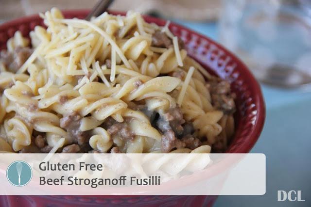 Beef Stroganoff Fusilli