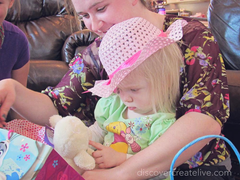 sweet little birthday/Easter presents
